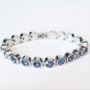 Touchstone Crystal by Swarovski PurpleIce Bracelet